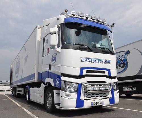 renault trucks t 520 transports sm france min de rungis alain le guern flickr. Black Bedroom Furniture Sets. Home Design Ideas