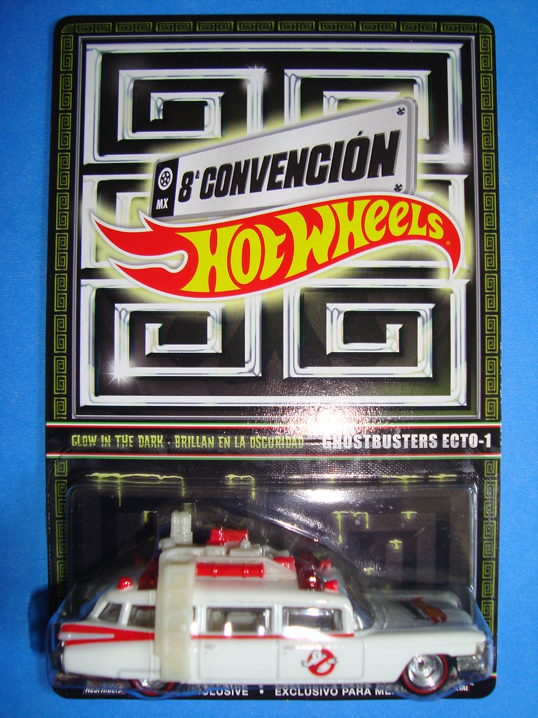 Ghostbusters ecto 1 hot wheels mexico convention 2015 djx for 9 salon hot wheels mexico