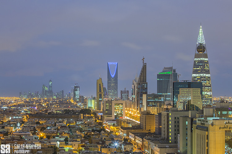 KSA - Riyadh - Skyline Of Al Riyadh City | Camera Model ...