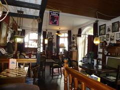 Im Cafe Sherlock Holmes