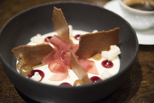 Buttermilk Panna Cotta, Bourbon Steak, The Westin St. Francis, San Francisco