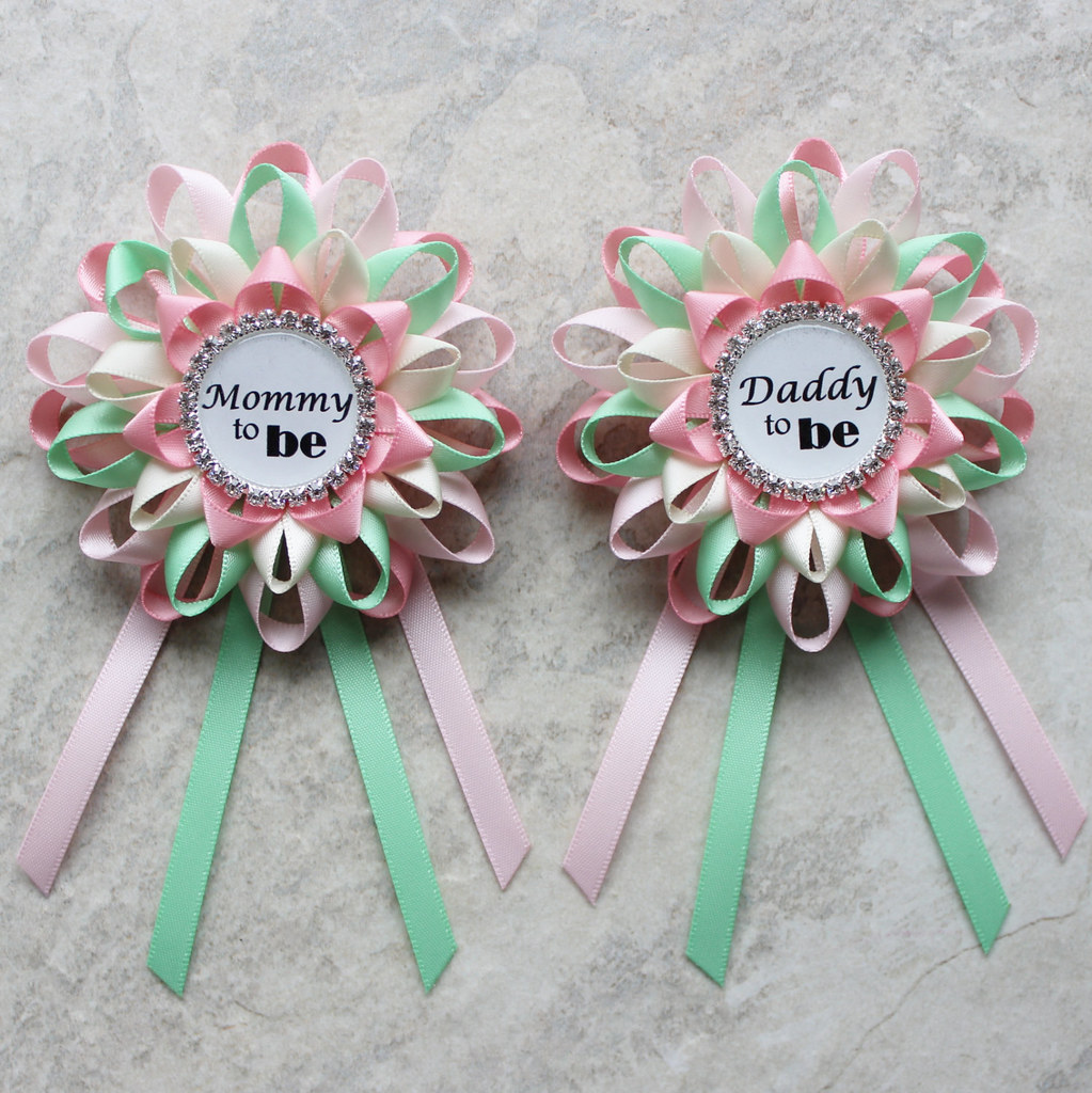 Mommy To Be Daddy To Be Baby Shower Decorations Baby Sh Flickr