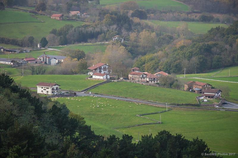 Barrio de Armoraldea de Urdax