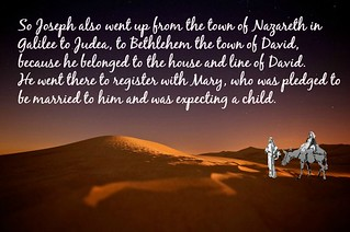 Luke 2:4-5, a trip to Bethlehem | by Creative Carol