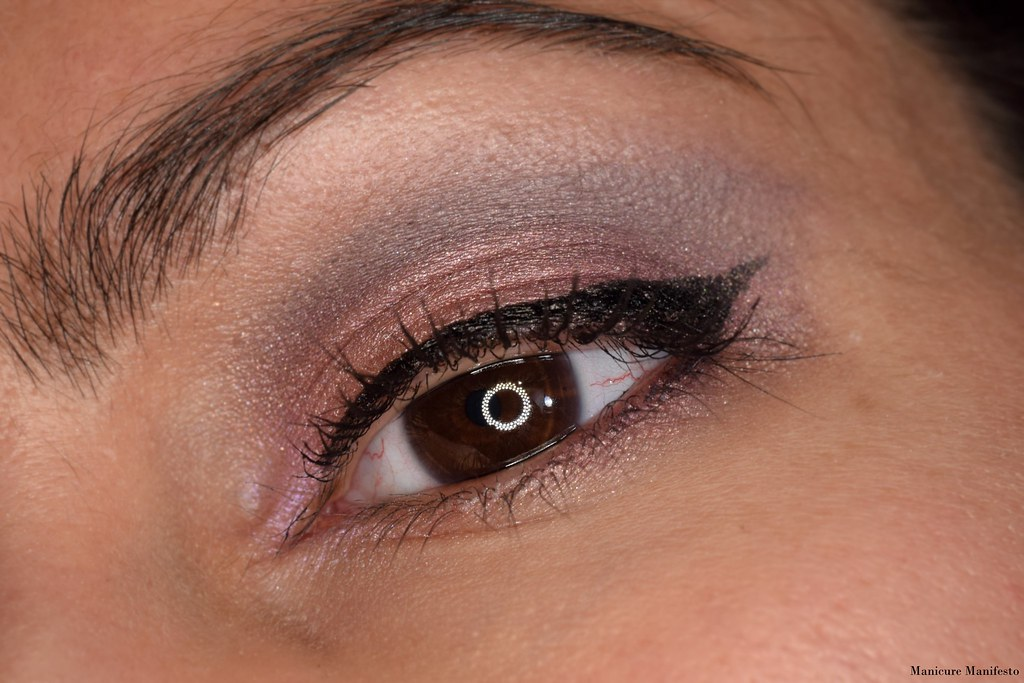 Pink and purple eye tutorial