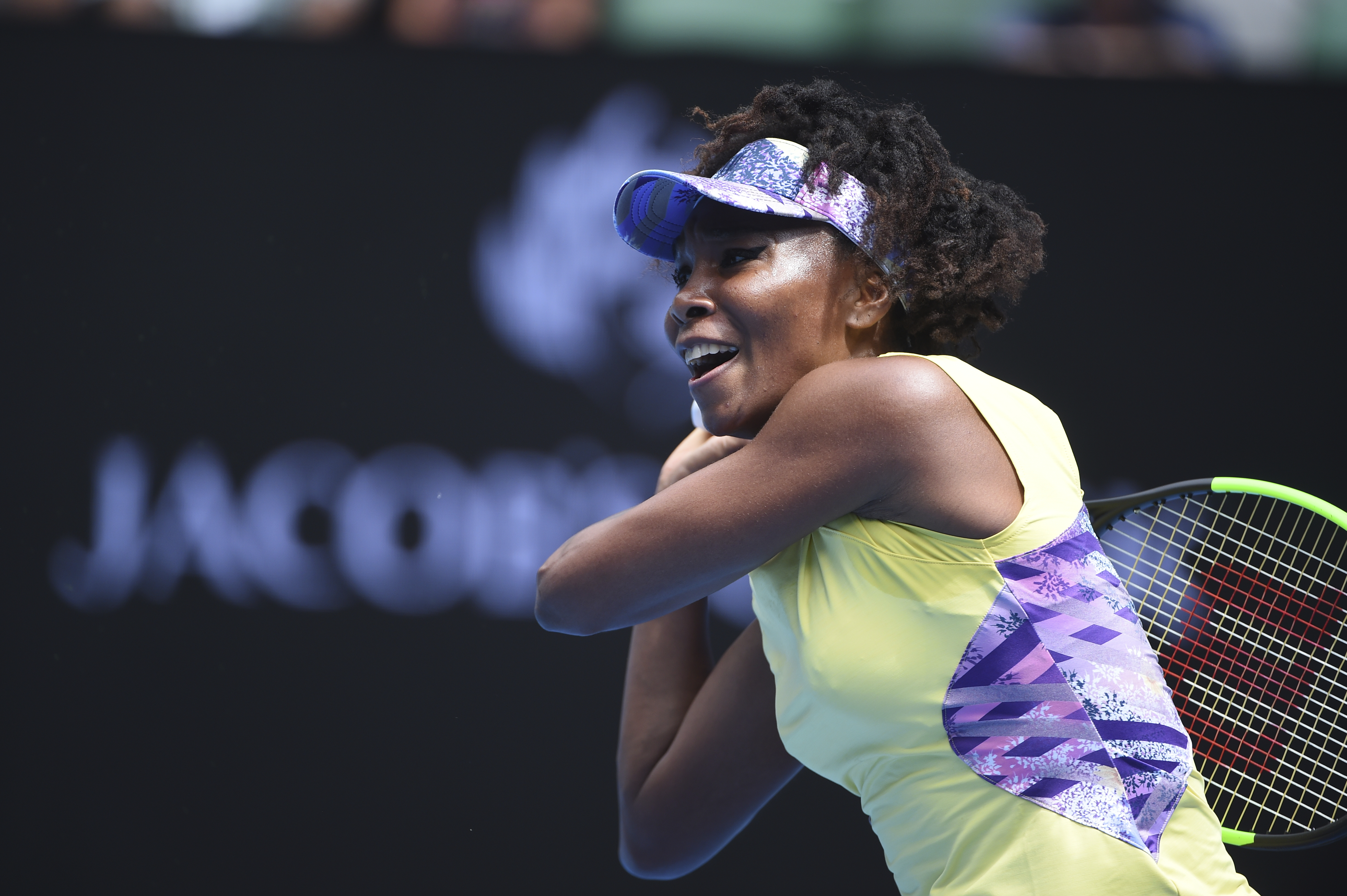 Venus Williams亟欲今年在澳網封后。(達志影像資料照)