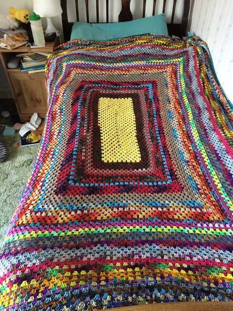 Sock Yarn Blanket 2