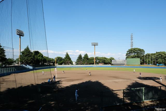 川越初雁公園棒球場