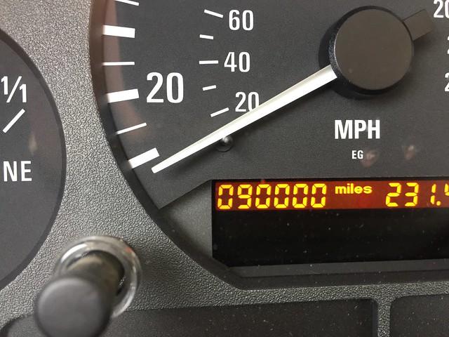 90,000 miles