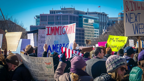 2017.02.04 No Muslim Ban 2, Washington, DC USA 00445 | by tedeytan