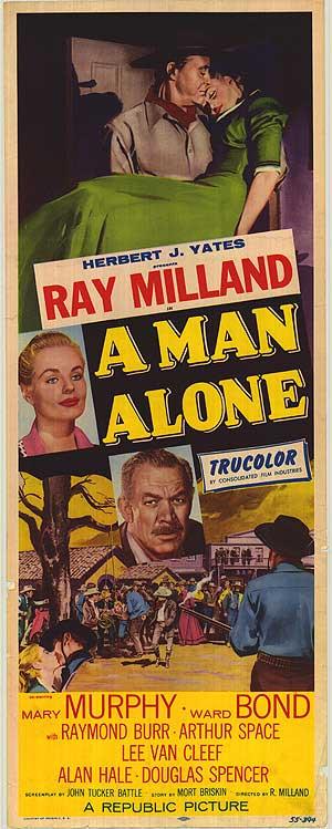 A Man Alone - Poster 3
