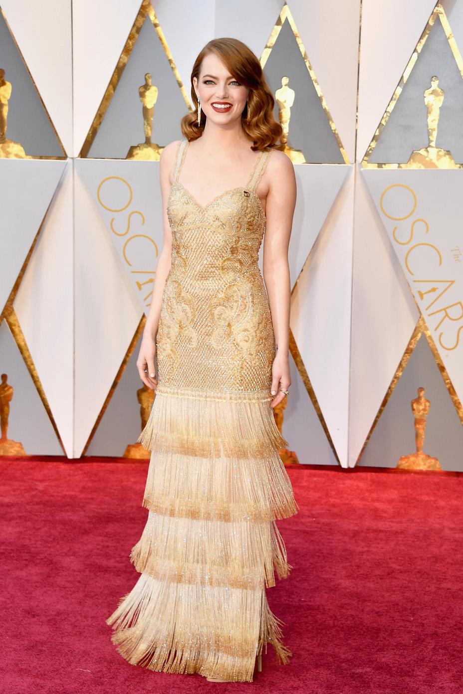 Emma Stone Oscars Givenchy