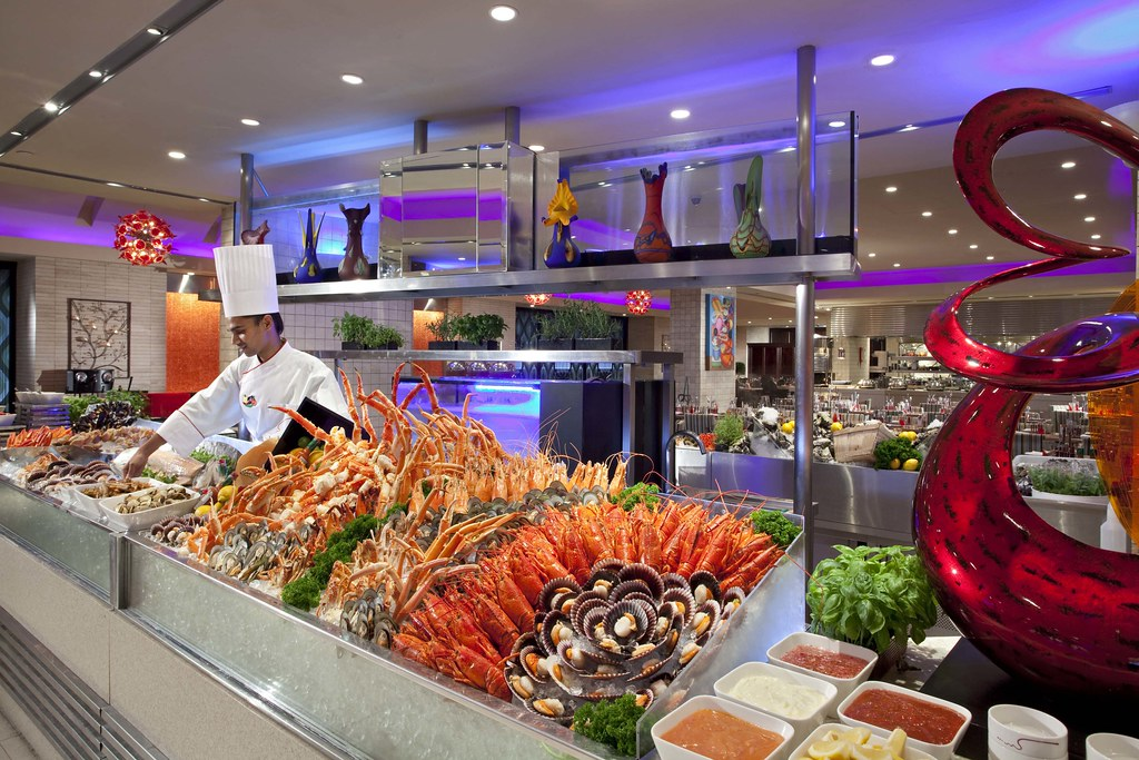 Seafood Counter, Carousel, Royal Plaza on Scotts