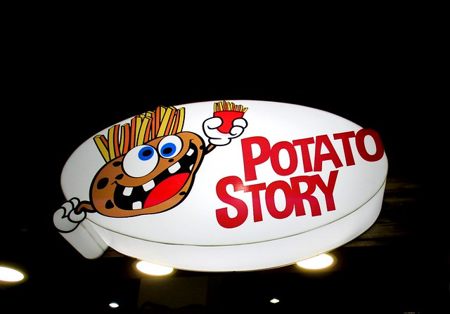 Potato Story Star Megamall Sibu