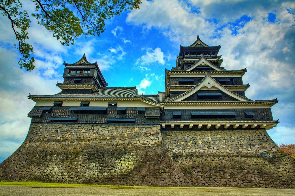 Image result for Kumamoto Castle (熊本城 Kumamoto-jō)