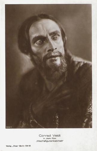 Conrad Veidt in Das Wachsfigurenkabinett (1924)