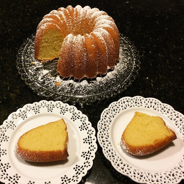 Bundt perfection. Orange pound cake recipe from King Arthur Flour. #yearofthebundt #kingarthurflour