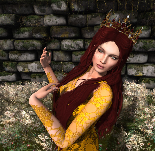 [ Session} , Truth hair, Zuri Jewelry - Asherah crown elite