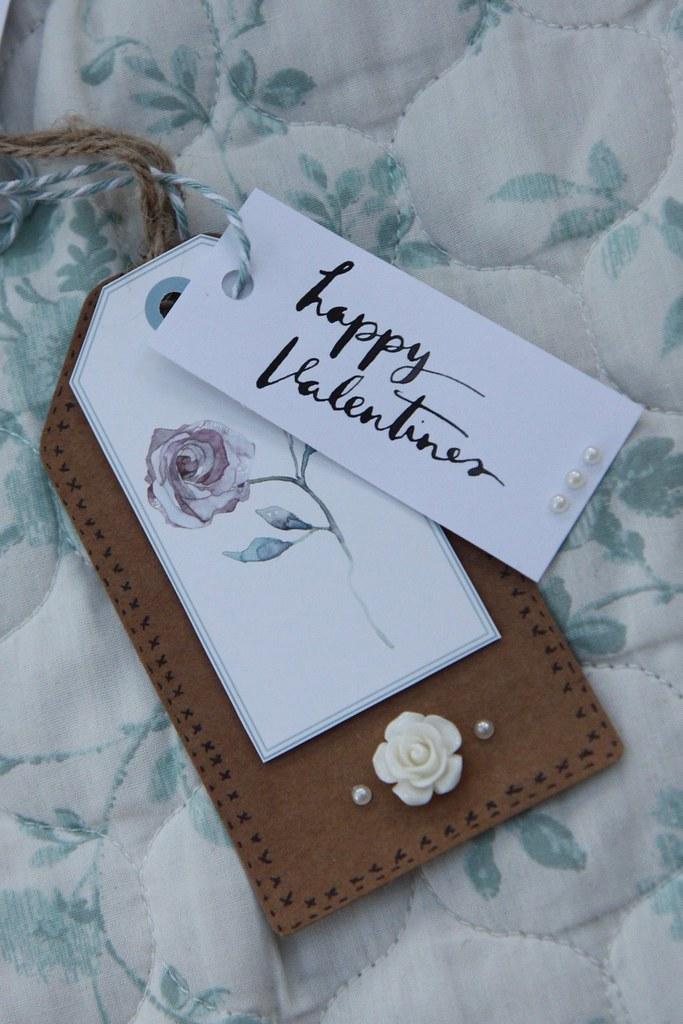 Bloom Beautiful Valentine's Tag by StickerKitten
