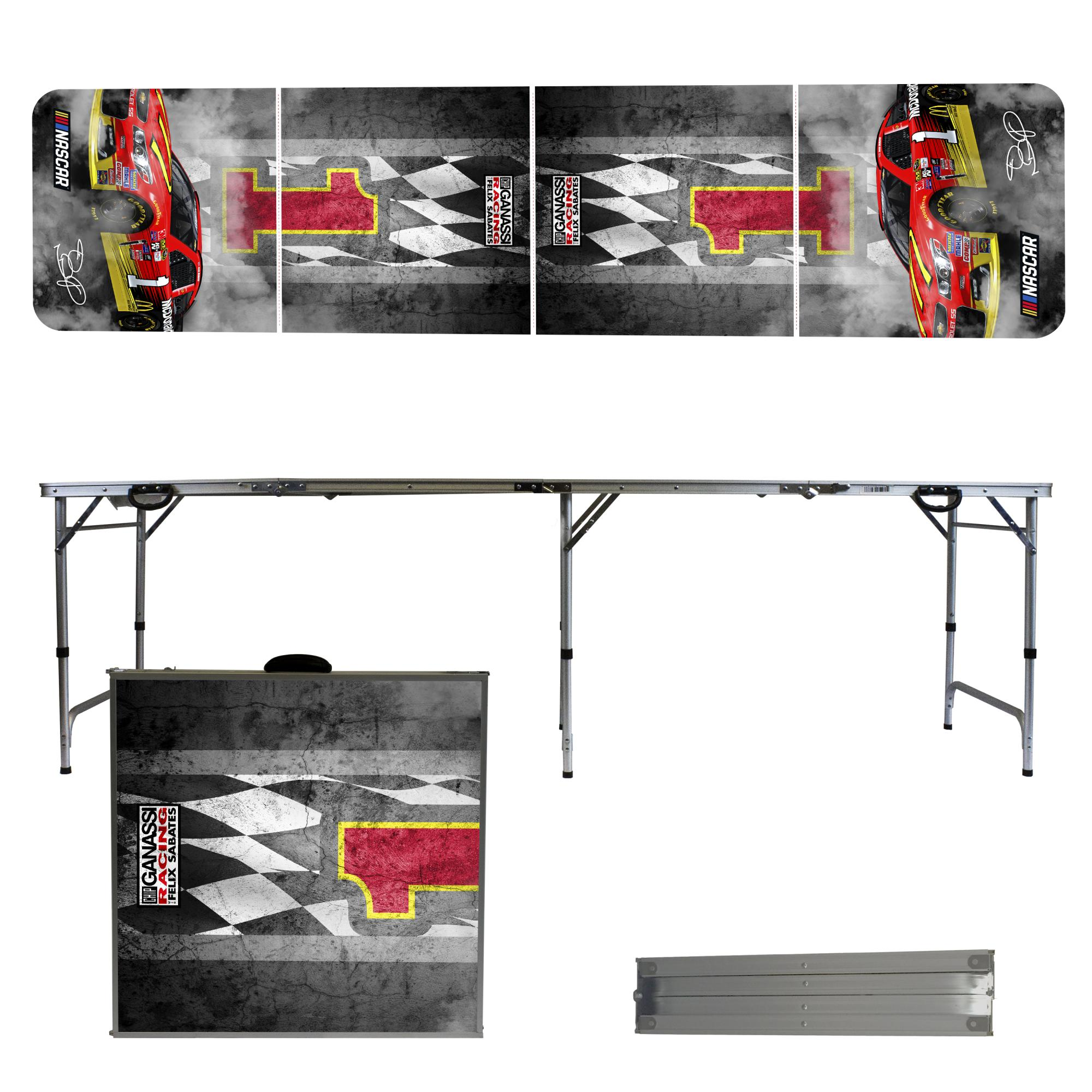 Jamie McMurray Tailgating, Camping & Pong Table