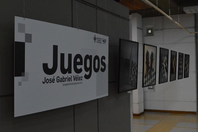 """Exposición """"Juegos"""" de José Gabriel Vélez"""