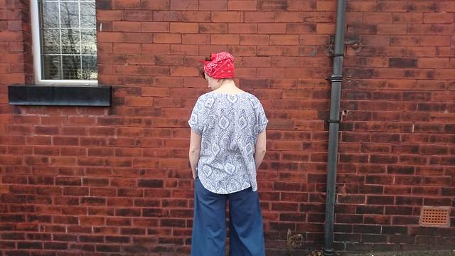 Sew DIY Lou Box Top & Emerson Trousers