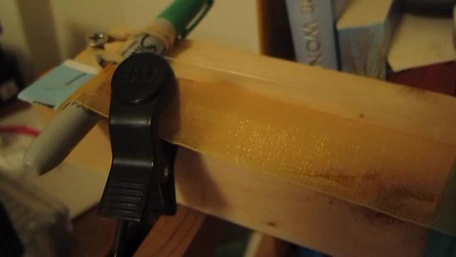 instrument-a-day 3:sharpie ribbon grinder