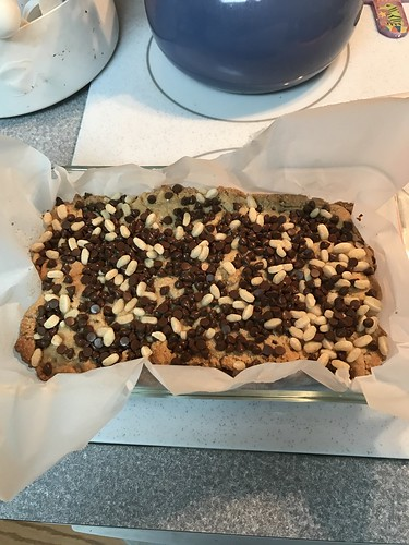 Maple-Nut Cookie Bars