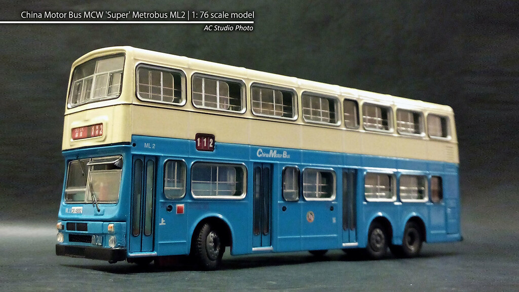 China Motor Bus MCW 'Super' Metrobus ML2   1:76 scale mode