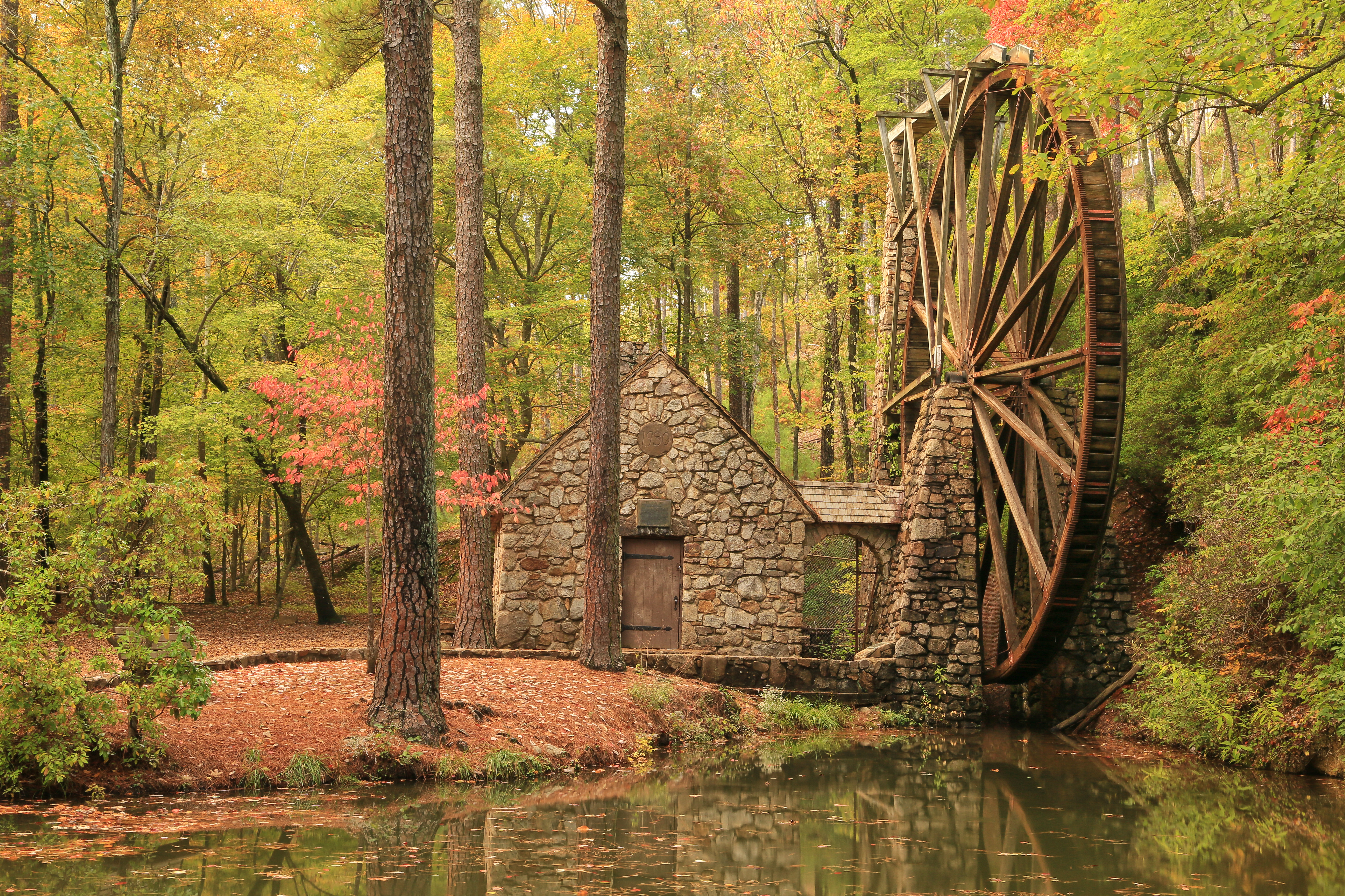 Old Mill, Berry College Campus, Rome, Floyd County, Georgia by Alan Cressler [5760 x 3840] x-post -r-HI_Res