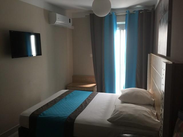 Habitación del hotel Select de Saint Denis (Isla Reunión)