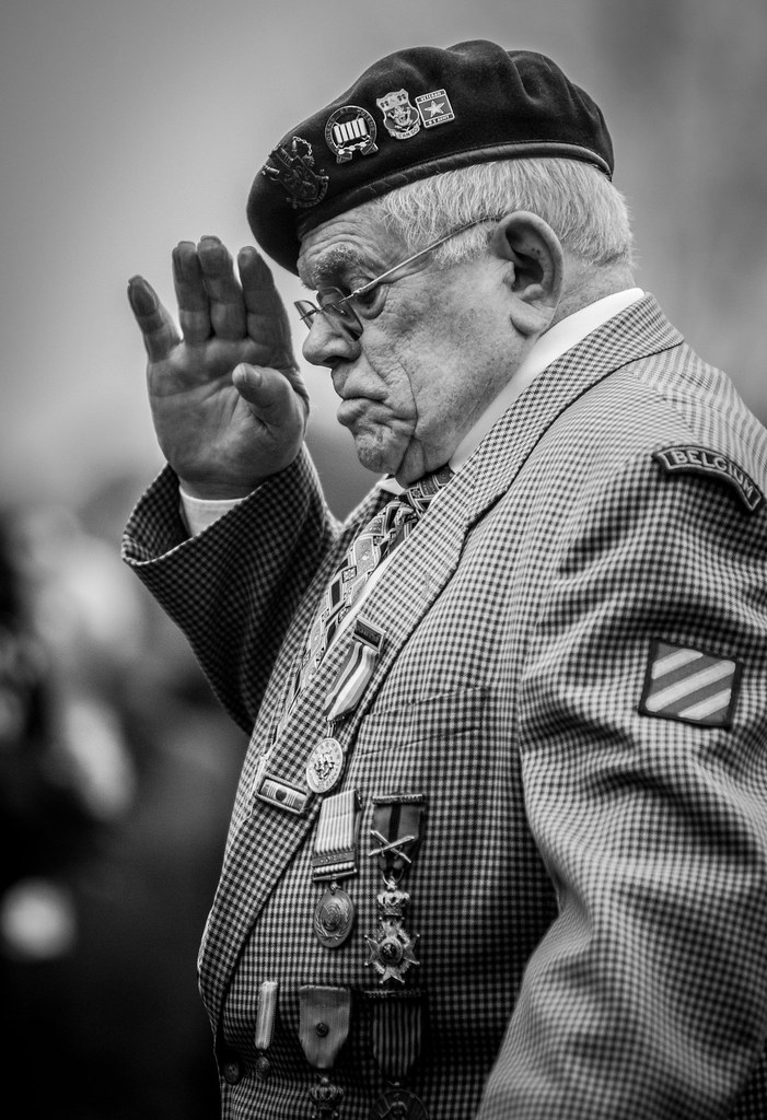 Bastogne And The Face Of Battle A Former Belgian Soldier S Flickr