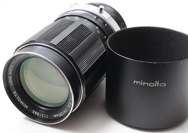 二手鏡頭 香港 . . . Minolta MC Tele Rokkor QD 135mm f/3.5  連原庒金屬遮光罩   發色極靚老鏡 A7專用