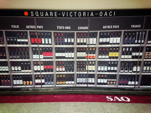 In Montreal you have wine cellars in the subway.
