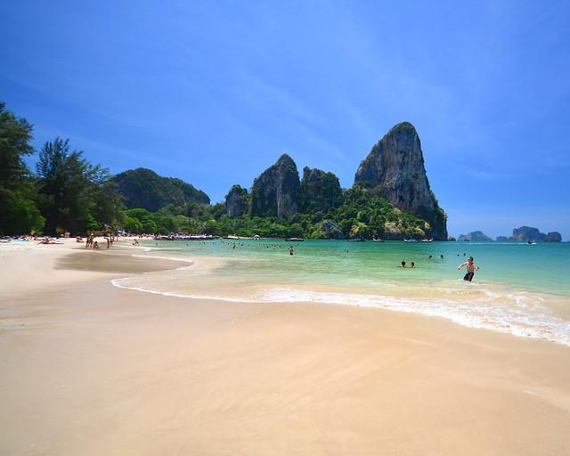 Railay Beach, una de las playas más espectaculares que ver en Tailandia