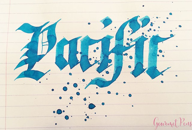 Ink Shot Review @Lamy Pacific Blue 2017 @fontoplum0 @LamyUSA 7