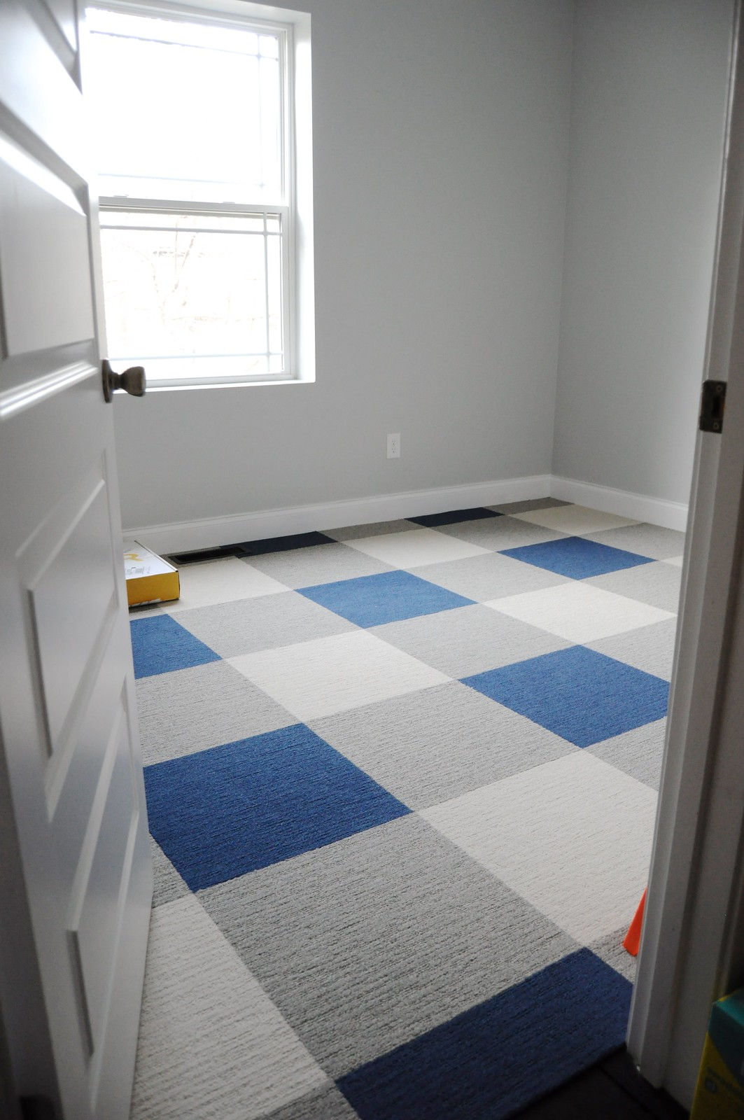Buffalo Plaid Carpet Tile Floor