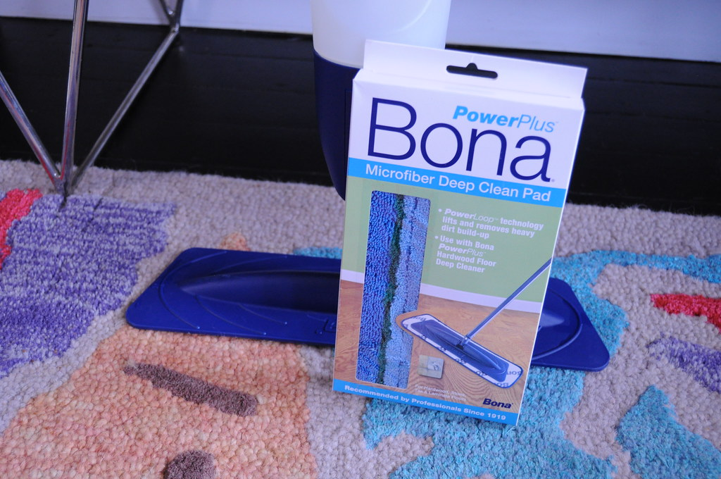 Sunday Cleaning with Bona PowerPlus Deep Cleaner