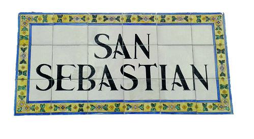 La calle San Sebastián en el callejero histórico