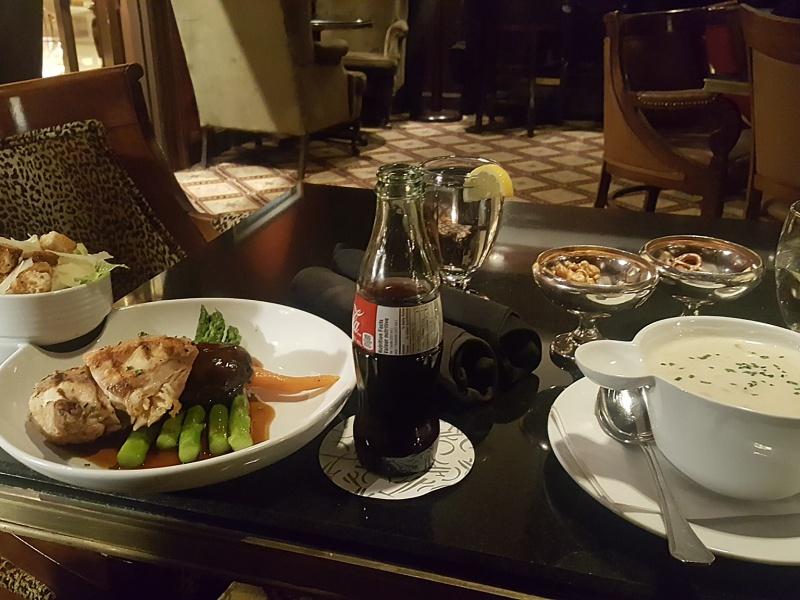 library bar dinner