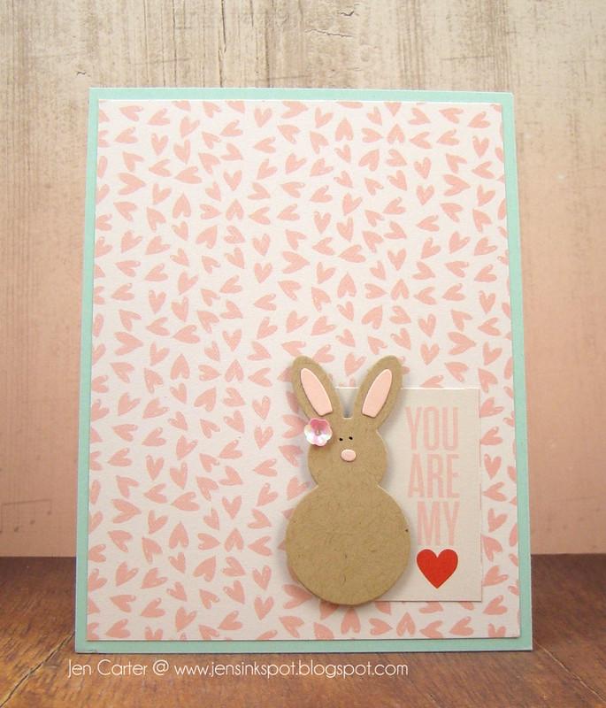 Jen Carter Bunny My Heart Front