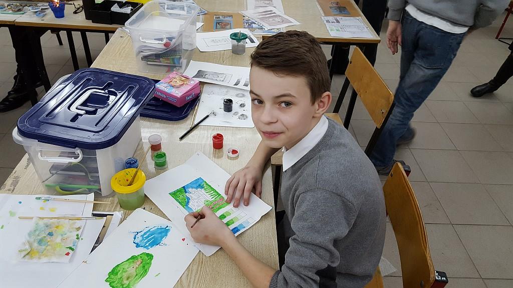 Воспитанники Воскресной школы «Упование» подготовили творческий проект «Наш Храм»