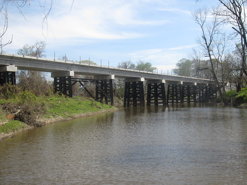 New railroad bridge