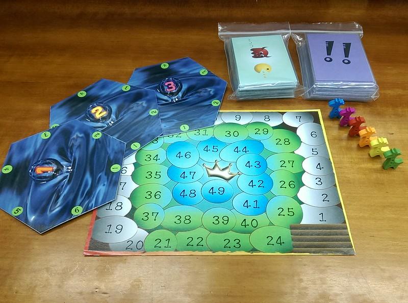《濕地吃多少》遊戲配件。圖片來源:劉哲聿