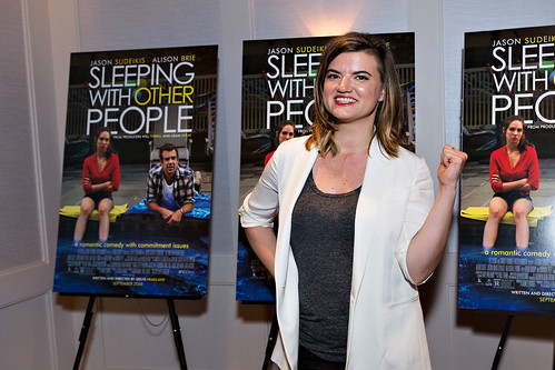 Leslye Headland at Sleeping with Other People, LA VIP advance screening | by helloflux