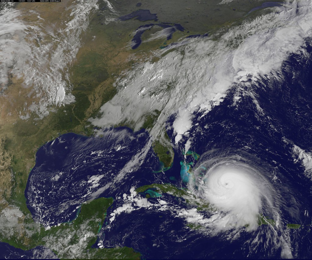 Latest View of Hurricane Joaquin | Hurricane Joaquin