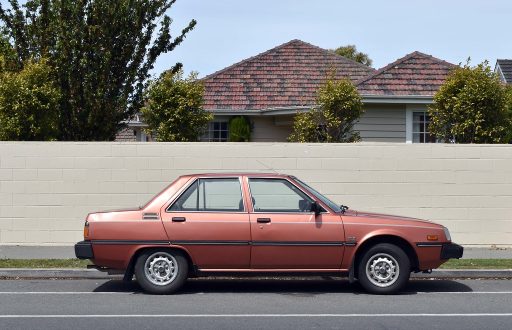 1984 Mitsubishi Tredia Christchurch New Zealand Flickr
