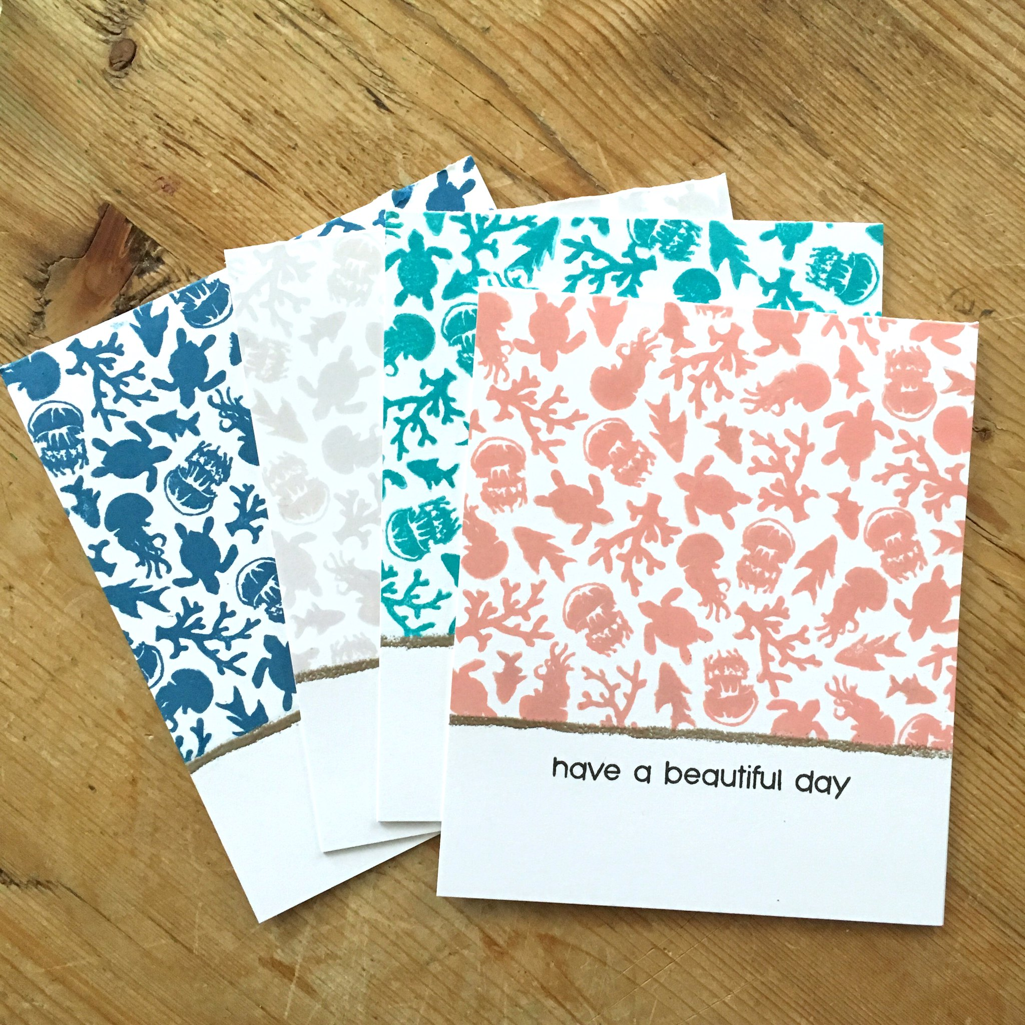 Have a beautiful day card set