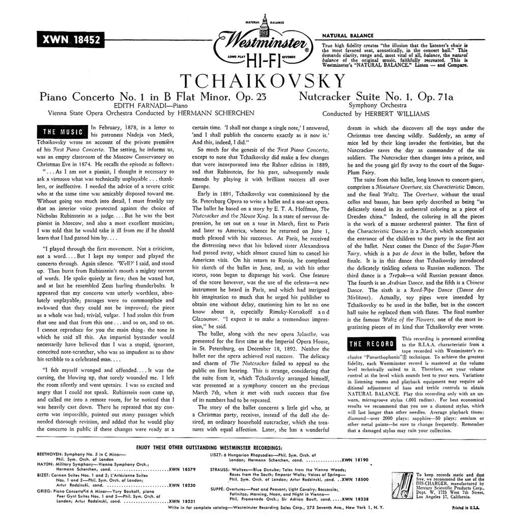 Pyotr Ilyich Tchaikovsky - Nutcracker Suite b