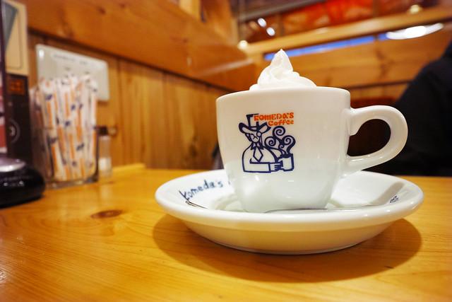 20170117_01_コメダ珈琲店 ウインナーコーヒー